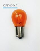 Car Light Incandescent Bulb P21W (382) BA15s 24V 21W glass Clear