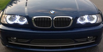 BMW Ringi SMD LED Zestaw (BMW E46 Coupe)